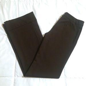 Express flare bottom dress pants